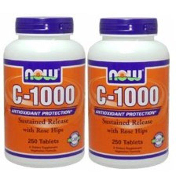 NOW Foods 高吸収ビタミンC1000mg