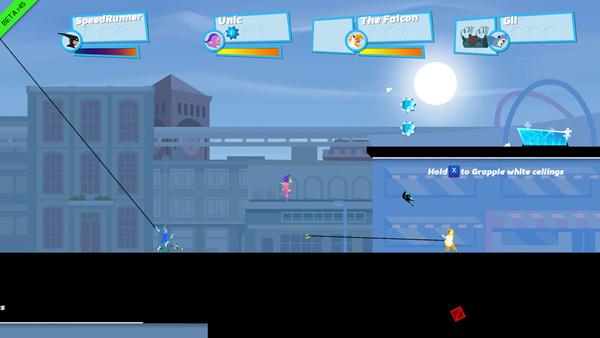 誰よりも速く走り抜け! 最大4人の横スクロール対戦アクション「Speed Runners」