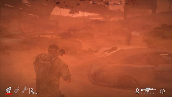 味方に指示を出したり、砂を使った仕組みがなど様々な要素を盛り込んでいる