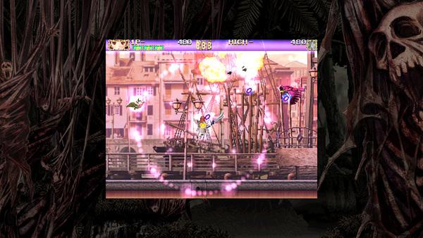 左右のショットボタンを両方押しっ放しにするとオートロックショットを撃つ。効果範囲内の敵を1体ずつ攻撃する。範囲はキャラクターによって異なる