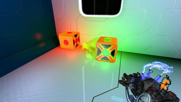 同じ色のエネルギーを宿したオブジェクトは引き合う。違う色の場合はそれぞれ反発しあう