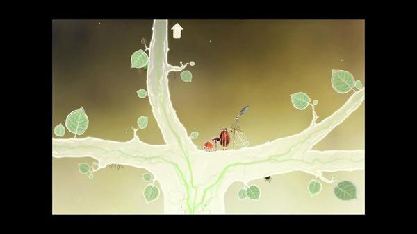 黒い寄生虫にふるさとの木を荒らされてしまう。小さな木の生き物たち5人は最後の種を守るために旅に出る