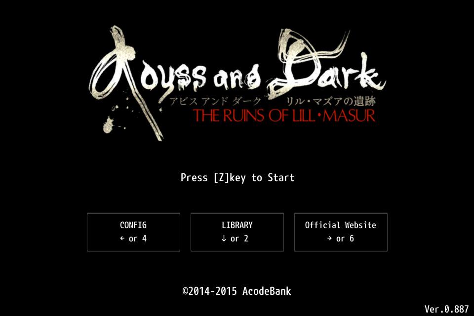 コンピュータRPGの元祖「Wizardry」ライクの高難度3DダンジョンRPG「Abyss and Dark #1 リル・マズアの遺跡」