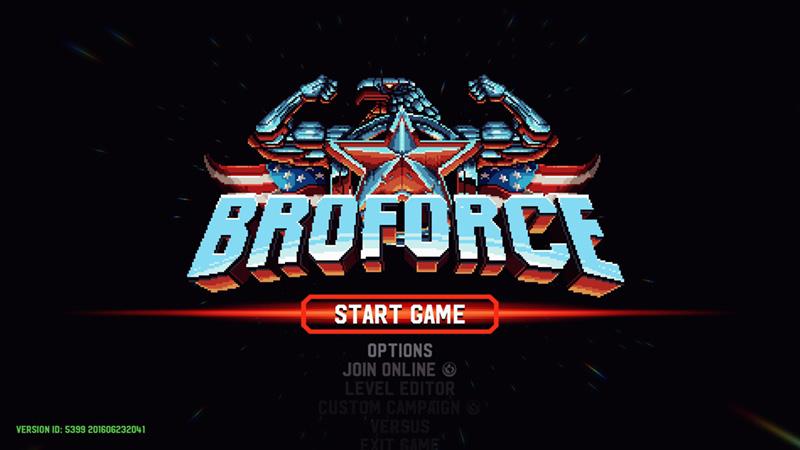 第3回:どこかで見たアニキ達が大活躍する爽快アクション「Broforce」