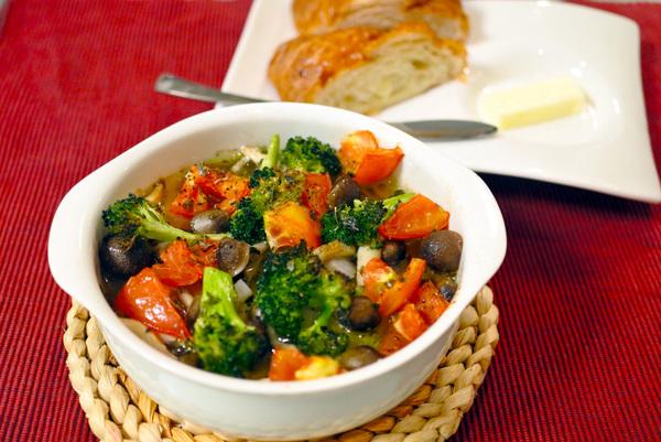 涼しく作れる レシピ 野菜のオーブン焼き