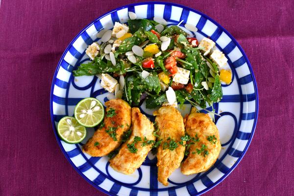 kit oisix キットオイシックス エリカ監修ささみのタンドリーチキン&キヌアとケールの美サラダのセット