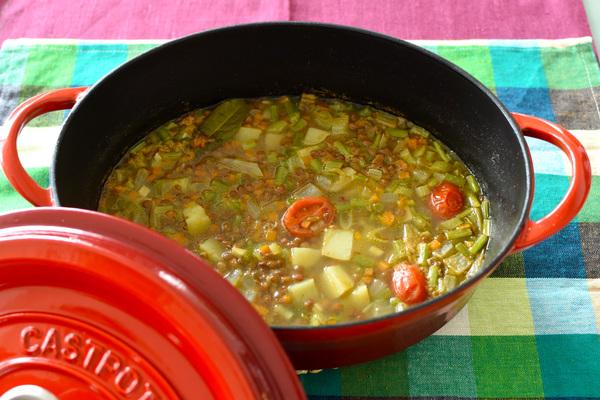 kit oisix キットオイシックス エリカ監修レンズ豆とスティッキオ美スープ