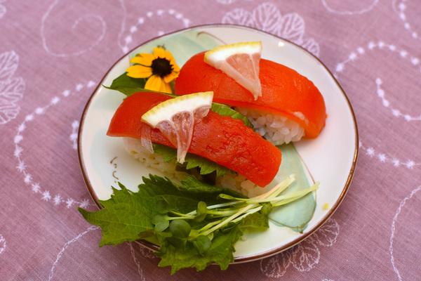 野菜寿司 パプリカマリネ寿司