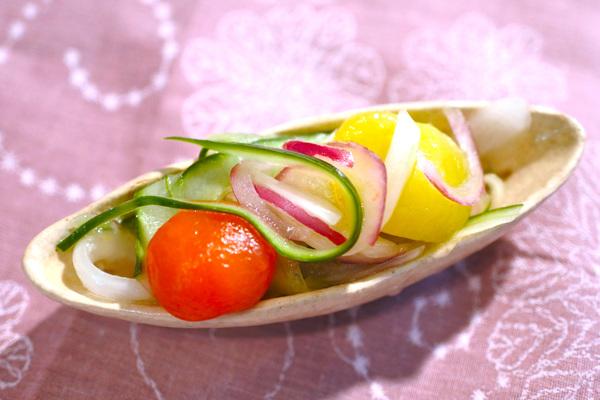 野菜寿司 マリネ野菜