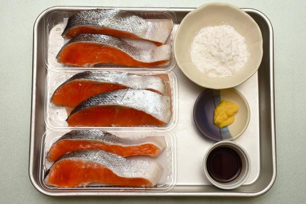 作り置き 鮭の竜田揚げ 材料