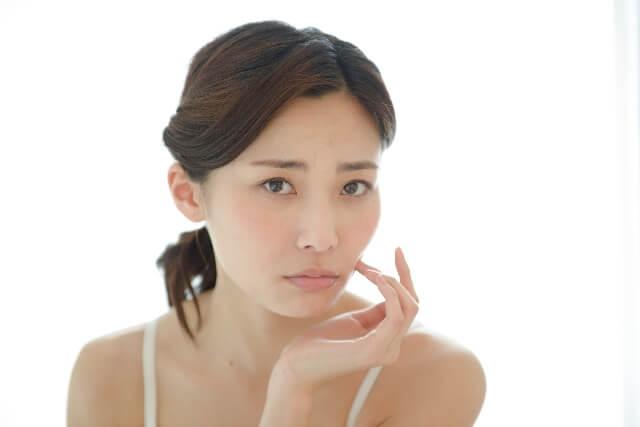 美白化粧品が効かないシミ